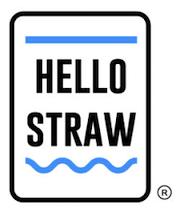 hello straw logo